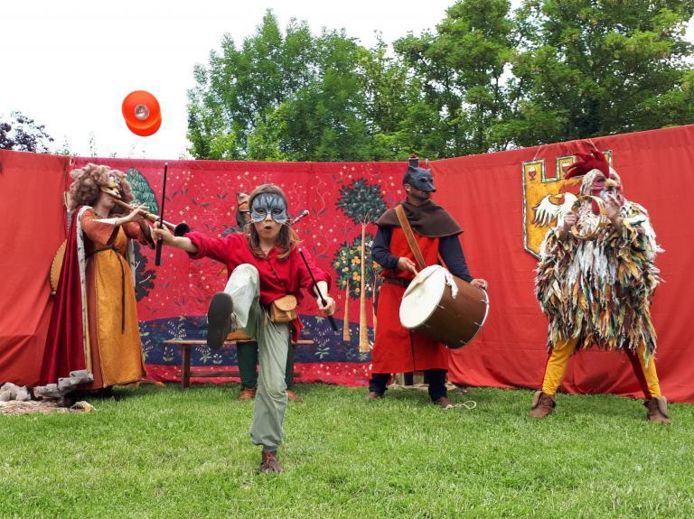 Musique et jonglerie